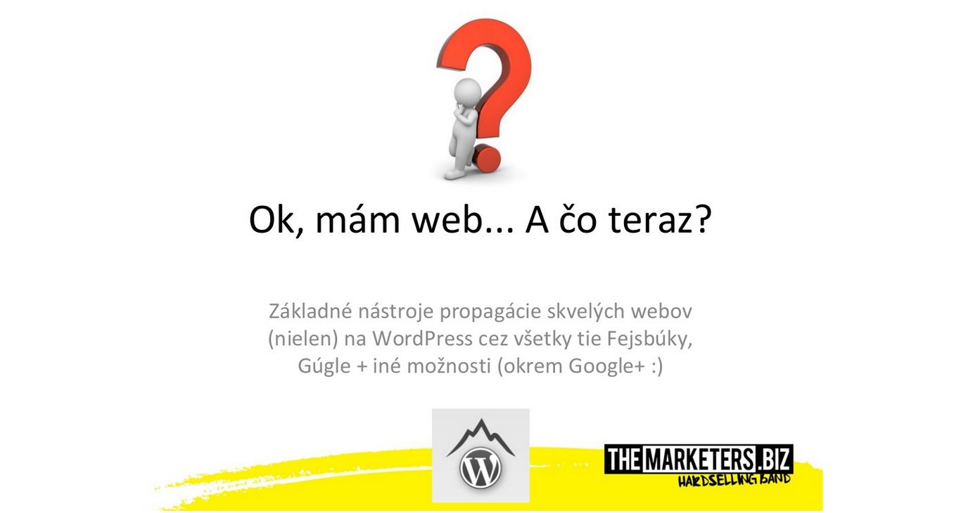 Prezentácia - Mám web