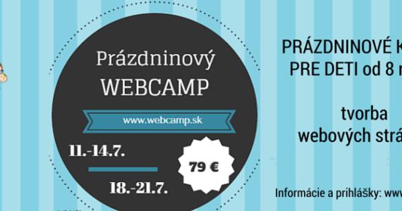 Webcamp 2016 - letný kurz pre deti