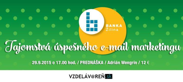 E-mail marketing - Internetová akadémia v Žiline